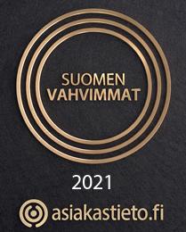 Suomen vahvimmat 2019 -sertifikaatti